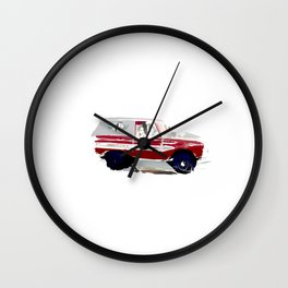 Day Bronco Wall Clock
