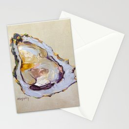 Oyster on a half shell Stationery Cards