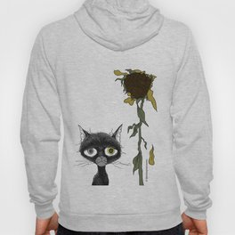 Sad is one complicated emotion of a cat! Hoody