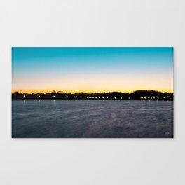 Blissful Sunrise Canvas Print