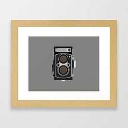 Twin Reflex - 124 Framed Art Print