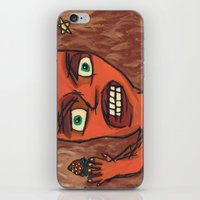 lawyer iPhone & iPod Skins featuring Sour Strawberries by Mister Groom