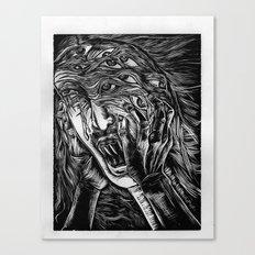 Aghhhh! Canvas Print