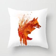 Plattensee Fox Throw Pillow