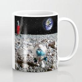 Smurf in the Moon Coffee Mug