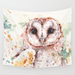 Australian Barn Owl Wall Tapestry