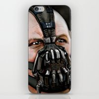 bane iPhone & iPod Skins featuring Bane by Spiro 1230