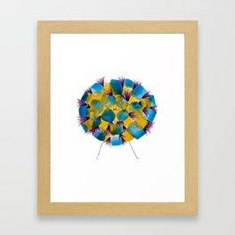 Poofy Perroshki Framed Art Print