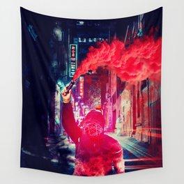 Urban Rebellion by GEN Z Wall Tapestry