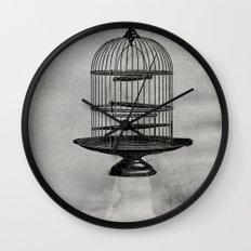 spaceship jail Wall Clock
