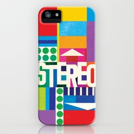 STEREO iPhone Case