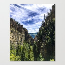 Hanging Lake Trail Canvas Print