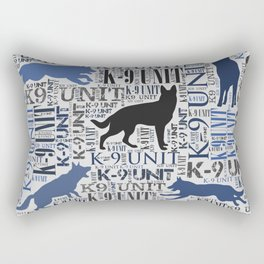 K-9 Unit  -Police Dog Unit Rectangular Pillow