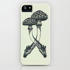 Mushrooms & Giraffe iPhone (5, 5s) Slim Case