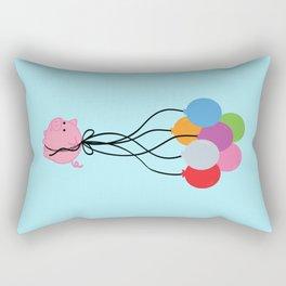 Pigs Can Fly Rectangular Pillow