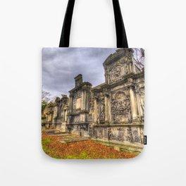 Greyfriars Kirk Cemetery Edinburgh Tote Bag