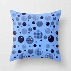 Bubblemagic Throw Pillow
