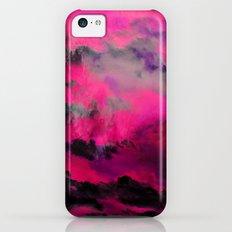 Raspberry Storm Clouds iPhone 5c Slim Case