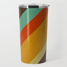 Retro 70s Color Palette Travel Mug