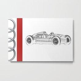 RennSport Speed Series: The Four Rings Metal Print