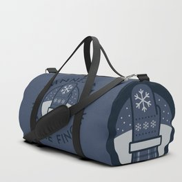 Minnesota Middle Finger Duffle Bag