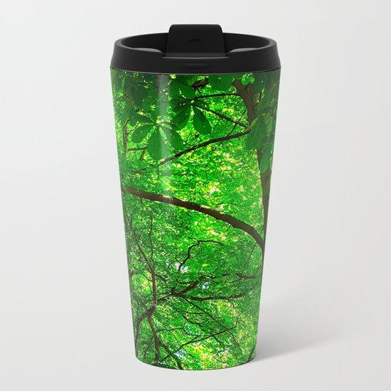 Maple Canopy, Dreamy and Magical Light Metal Travel Mug