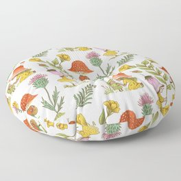 Summer Fairy Folk Floor Pillow