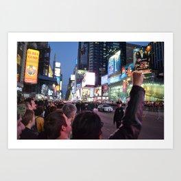 Take Times Square Art Print