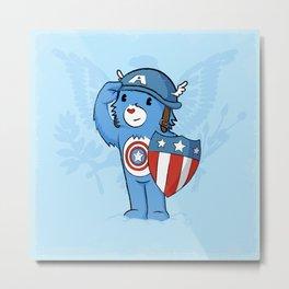 Captain  Americare Metal Print