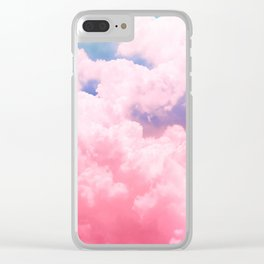 Candy Sky Clear iPhone Case