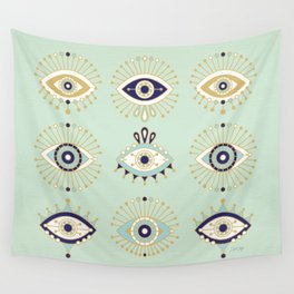 Evil Eye Collection Wall Tapestry