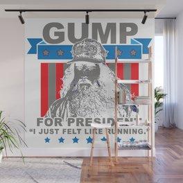Gump For President Wall Mural