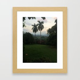 AB hacienda  Framed Art Print