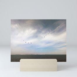 Birds Over Blighty Mini Art Print