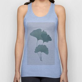 Ginko Leaves Unisex Tank Top