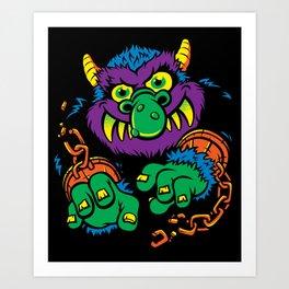 My Pet Monster Art Print