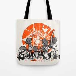 We'll help you rise again Tote Bag