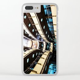 Curved walkways Clear iPhone Case