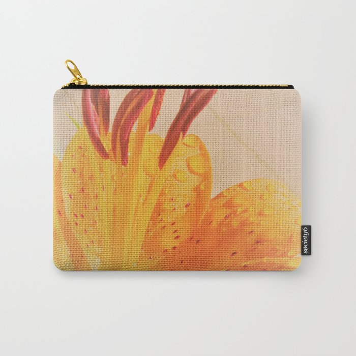 orange lilie Carry-All Pouch