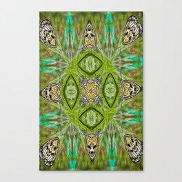 Tree Nymph kaleidoscope Canvas Print