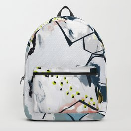 Ava Abstract Print Backpack
