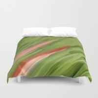 grass Duvet Covers featuring Grass by Paul Kimble