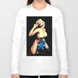 """Nookie Monster"" Long Sleeve T-shirt"