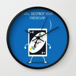 Friendship Destroyer Wall Clock