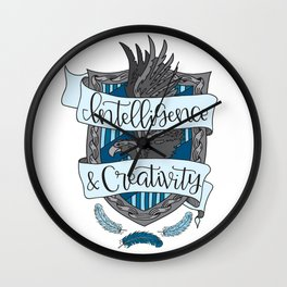 House Pride - Intelligence & Creativity Wall Clock