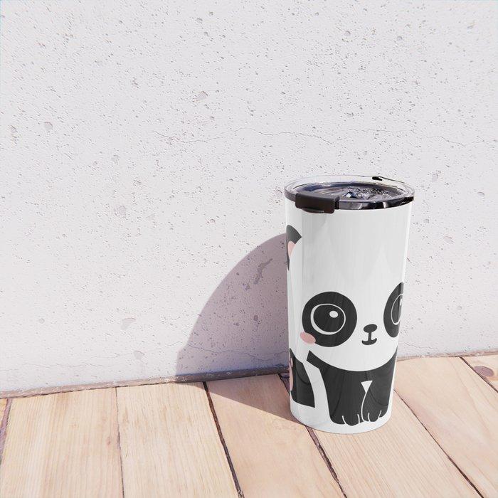 Cute Baby Panda Travel Mug