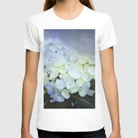 hydrangea T-shirts featuring Hydrangea Blossoms  by Pure Nature Photos