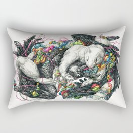 Northern Lovers Rectangular Pillow