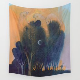 Forest of Endless Sleep Wall Tapestry