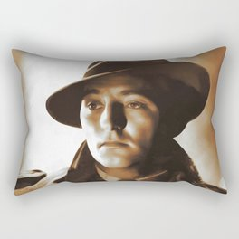 Robert Mitchum, Hollywood Legends Rectangular Pillow